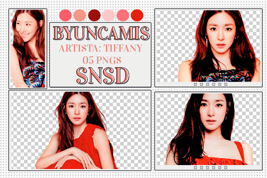[PNG PACK #424] Tiffany - SNSD by ByunCamis