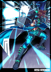 Azure Striker Gunvolt by Rog-Rockbe