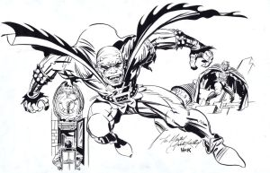 Inks over Kirby by RobertHack