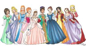 Erstwhile Princesses by Xiaomei23