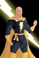 Dwayne Johnson as Black Adam by OwenOak95