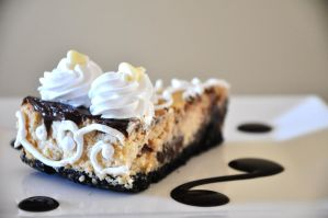 Marbled Nutella Cheesecake by TantalizedBaker