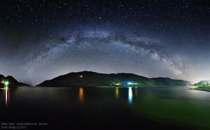 Milky way by BorisMrdja