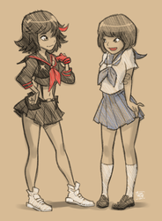 Kill la Kill a la Disney by MichaelMayne