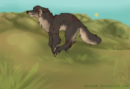 .:Trying to catch my breath:. (ych example) by DAISYsk