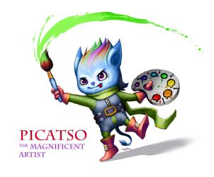 Game design: Picatso by IvikN