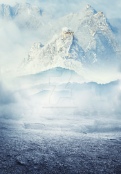 Mountains - Premade Background by FreshComposure