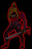 Red Ninja Color test by filipeG