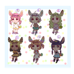 Bunbun Chibi Adopts [45 Points] Open by Duck-Senpai