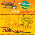 M3con Indies Poster by mangaholix