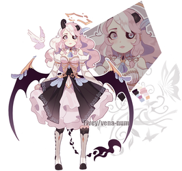 [CLOSED AUCTION] -adoptable angelic demon by Fivey