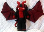 Demon Amigurumi Doll by voxmortuum