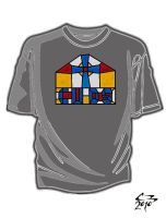 Divinity School T-Shirt 10 by simplemanAT