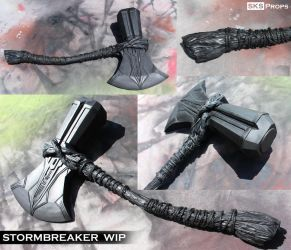 Thor's Stormbreaker WIP Cosplay Weapon - SKS Props by SKSProps