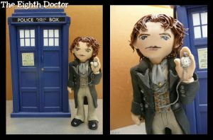 Clay Eighth Doctor by vandonovan