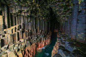 Fingal's Cave by NurturingNaturesGift