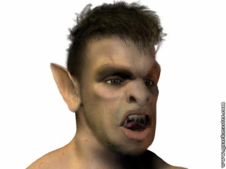 Quarkmaster Touchup: Orc Tad by Aielyn