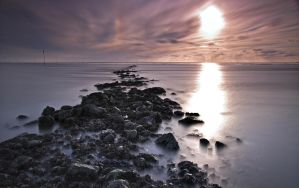 Long Exposure North Sea by Bull04