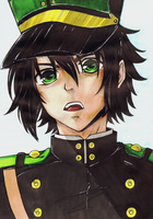 Yuuichirou Hyakuya (Owari no Seraph) by Food-and-art