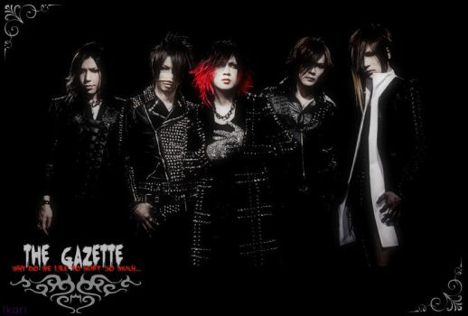 GazettE Wallpaper 2014 by XxWhoAreYouxX