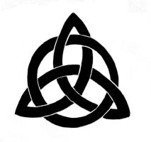 Triquetra tattoo design by WhiteFlame