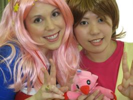 Mimi and Sora Cosplay by mippa