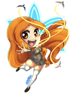 Orihime Chibi by Mute-Massacre
