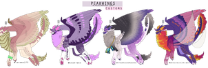 Peakwings custom Batch by velocirapioca