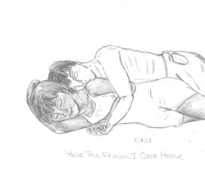 You're The Reason I Come Home... by Dumpling14