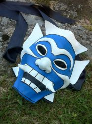 Blue Spirit Mask by lulutetium