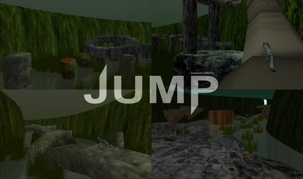 Swamp Jump - Parkour Feral Heart Map by ImmatureGirl