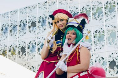 Sheryl and Ranka by Dolly-chan
