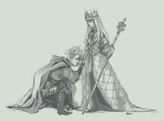 FC - Denmark and Margaret I by oneoftwo