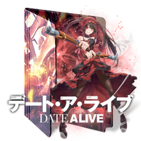 Date A Live v2 Folder Icon by Kiddblaster