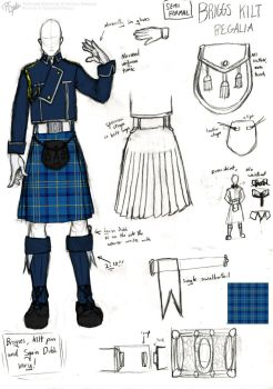 Briggs Semi Formal Kilt Uniform by R-Spanner