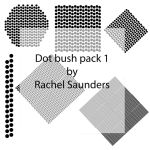 Dots brush set 1 by Random-Acts-Stock