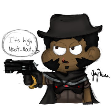 Mccree High Noot Noot by JashawnMuse