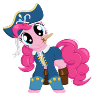Captain Pinkie by Ohemo