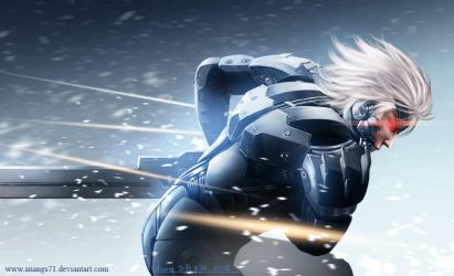 Raiden MGS by anangs71