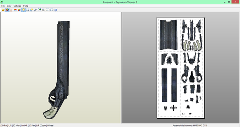 DMC: Devil May Cry Ravenant Papercraft [DOWNLOAD] by SIBOR270898