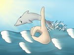 ASL Dolphin by RebelRenee36