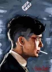 Peaky Blinders - Tommy Shelby by KevinMonje