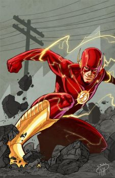 The Flash by deralbi