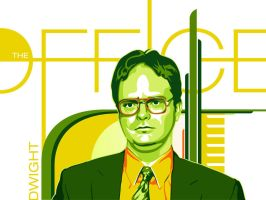 Dwight Schrute - The Office by dhil36