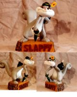 Slappy's welcome gift by darkwax