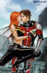 Giant-Man and Giant-Woman of Earth-20052 by giantess-fan-comics