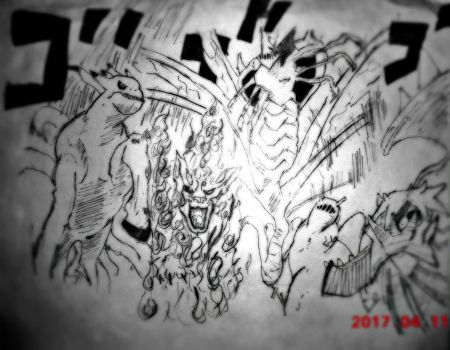 Tailed Beasts by 0Mrpriest0