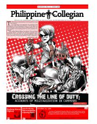 Philippine Collegian issue 15 by kule-0809