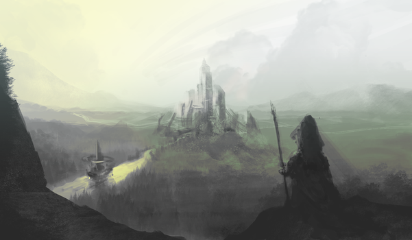 Speed Painting - 1 by Toen