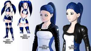 Irene Evolution by Shadow-Corp